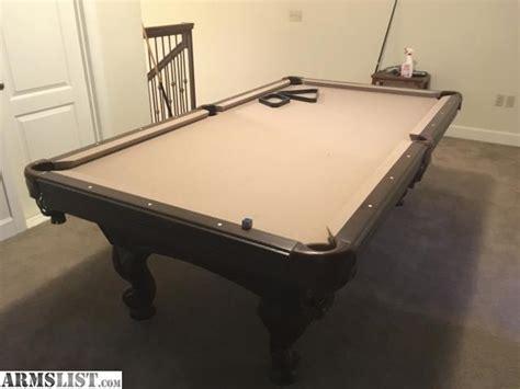 olhausen pool tables houston armslist for sale fs 8 ft olhausen montrachet pool