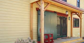 Beam X Front Of House Energy Efficient Barn Homes And Post Beam Homes By