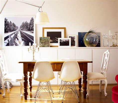 arredare parete soggiorno arredare con le fotografie una parete leitv