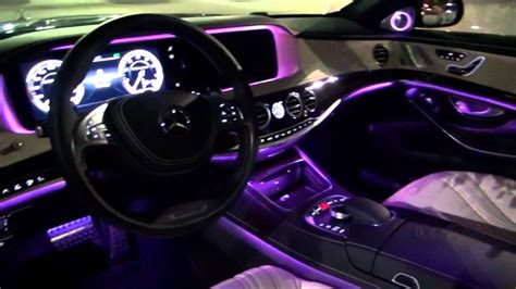 mercedes benz interior lights mercedes s class coupe interior lighting www napma net
