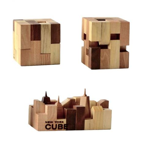 woodworking nyc new york city cube the souvenir gift of manhattan