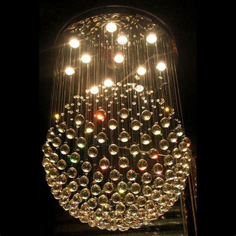 Sphere Dining Room Light Modern Drop Led Chandelier Sphere L Dining
