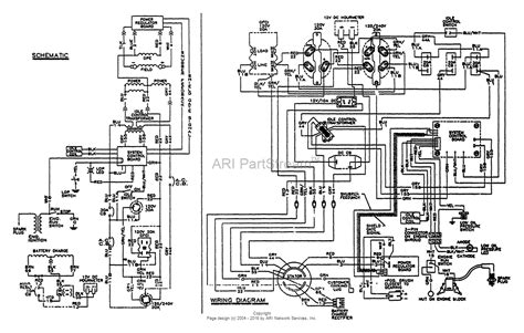generator wiring diagram and electrical schematics 50