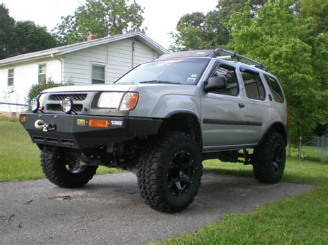 lifted silver nissan 2001 nissan xterra lifted image 80