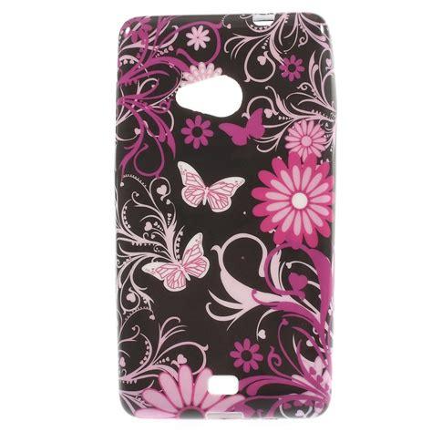 Soket Lu Fitting Lu Mio Soul Gt mesh microsoft lumia 535 hoesje zachte back vlinders zwart shop4hoesjes