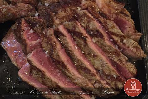 come si cucina una bistecca come cucinare una bistecca perfetta ristorante l oste e
