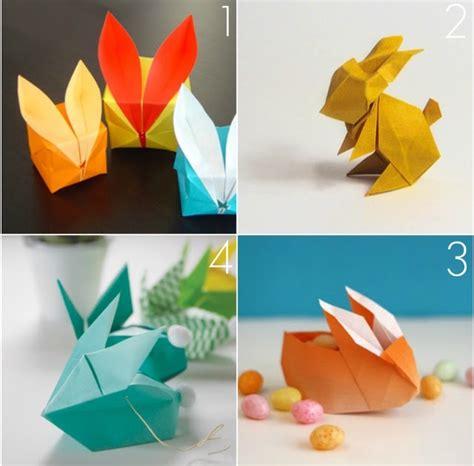 omiyage blogs diy origami bunnies