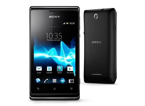 sony android phone sony xperia e android phone announced gadgetsin