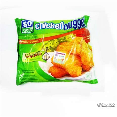 Spicy Chiken Naget Frozen Naget Ayam detil produk so chicken nugget spicy grlic pack 1017140060072 8993110040627 superstore the