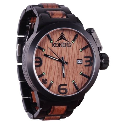 montres en bois pour homme