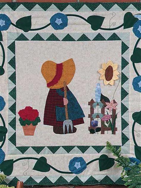 applique gift patterns gardening sue wall quilt