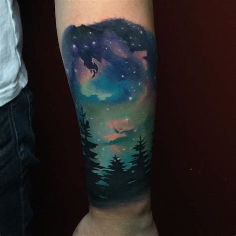 night time tattoo sky tattoos designs ideas and meaning tattoos for you