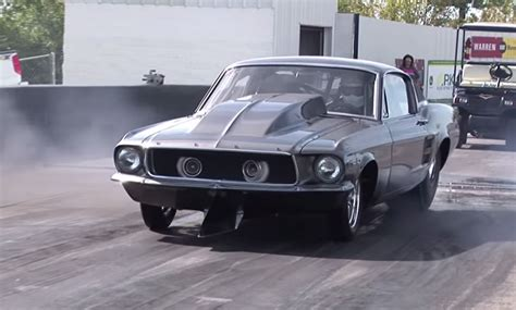 1967 chevy mustang meet helleanor the 2 000 hp chevy powered mustang