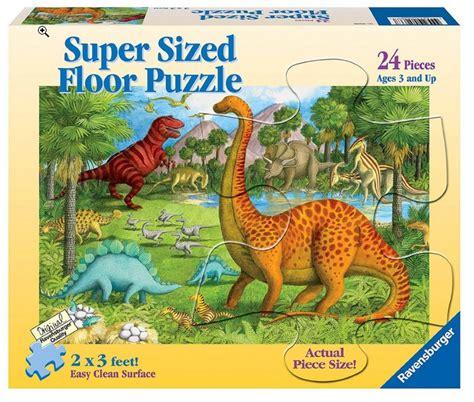 500 Jigsaw Puzzle Dinosaurs jigsaw puzzle 24 pieces maxi dinosaur friends