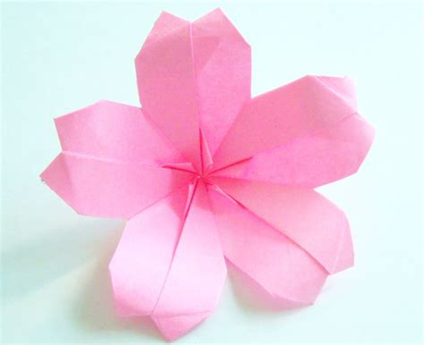 Origami Paper Flower - origami origami cherry blossom