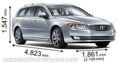volvo v50 estate dimensions dimensions des voitures volvo longueur x largeur x hauteur