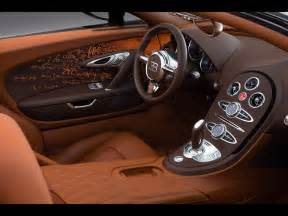Interior Of A Bugatti 2012 Bugatti Veyron Grand Sport By Bernar Venet Interior