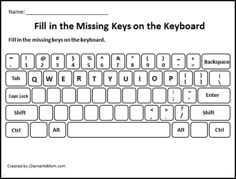learning  computer keyboard layout fill