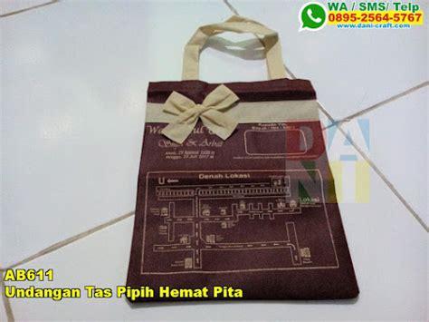 Tas Souvenir Undangan Pernikahan Pipih 26 undangan tas pipih hemat pita souvenir pernikahan