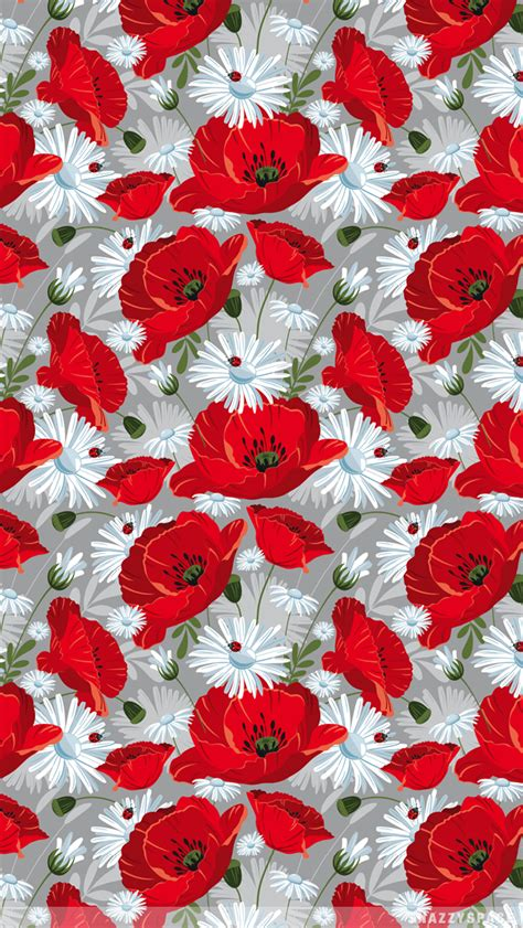 Wallpaper Vintage Flower Red | red vintage floral backgrounds pictures to pin on
