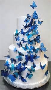 pastel con mariposas azules sabores pinterest pastel