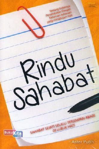 Sahabat Baru Naira Soft Cover Oleh Ristee bukukita rindu sahabat toko buku