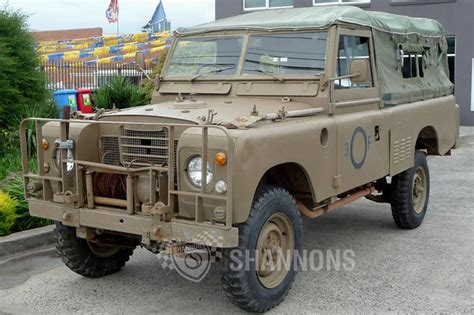 land rover series 3 sold land rover series 3 ex army utility auctions lot