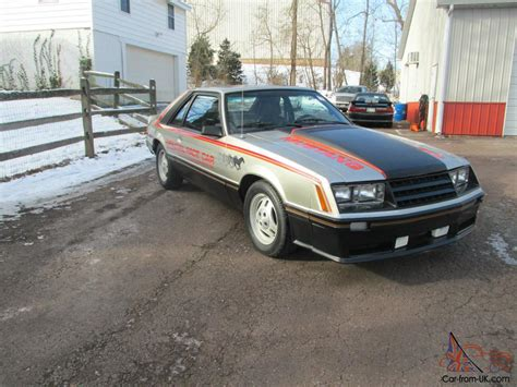 1979 ford mustang turbo pace car