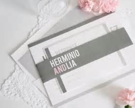 pink and grey modern wedding invitations wedding invitations
