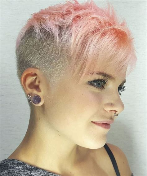 glowing undercut short hairstyles  women hairstyles