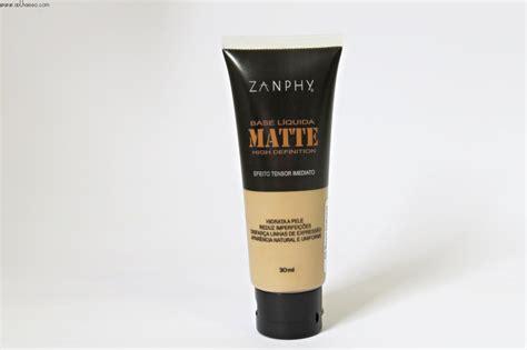 Base Make Up Ultima Base Matte Zanphy Make Up Tallita Lisboa