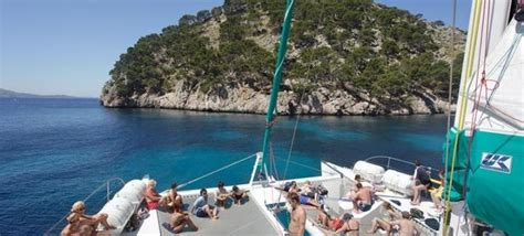 catamaran barcelona alcudia 26 best images about discover mallorca by boat cat on