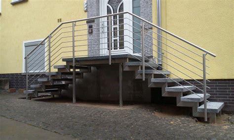 edelstahl terrassengeländer schlosserei hoppe treppengel 228 nder edelstahl