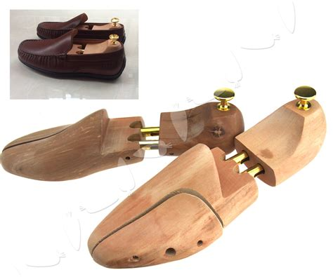 10 Pairs Of Brand Name Shoes 100 by Pair Of Shoe Tree Stretcher Cedar Wood Wooden Shaper Eu 43
