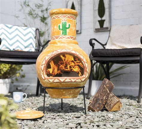 chiminea argos la hacienda designer homeware