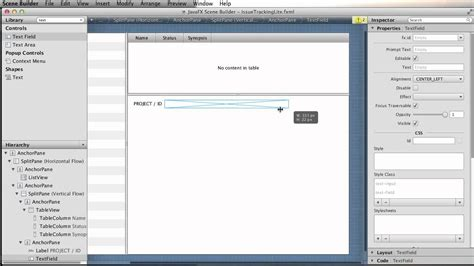 javafx tutorial netbeans javafx scene builder 1 0 with netbeans 7 2 youtube