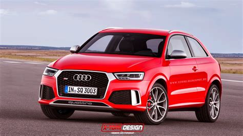 Audi Q3 Fuel Efficiency by 2015 Audi Rs Q3 Rendered With Two Doors Gtspirit