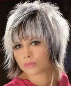 gray shag haircuts shag hairstyles for women hairstyles for women