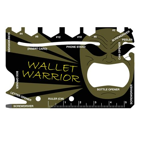 credit card multi tool its prowmt pro wallet warrior credit card multi tool