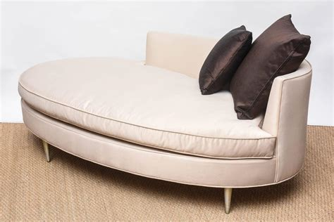 oval shaped recamier chaise at 1stdibs