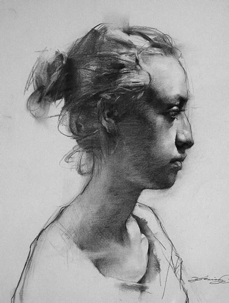 Portraits And Sketches by Drawings Zhaoming Wu