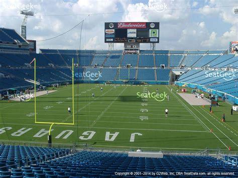 jacksonville jaguars everbank field everbank field section 149 seat views seatgeek