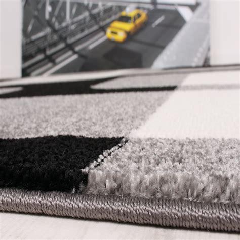 guide tappeti set tappeti guide motivo moderno 3 pz grigio nero