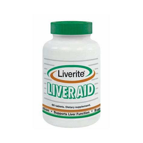 Supplements To Aid Liver Detox by Liverite Liver Aid Dietary Supplement 792465 101931