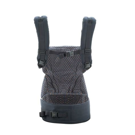 Ergobaby Hipseat Dusty Blue 1 ergobaby 4 position 360 baby carrier dusty blue front