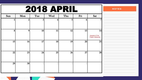 printable calendar 2018 indonesia april calendar 2018 indonesia free printable templates