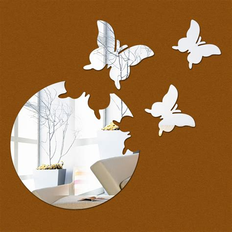 pattern mirror wall stickers 2016 new home decor wall sticker stickers diy kitchen