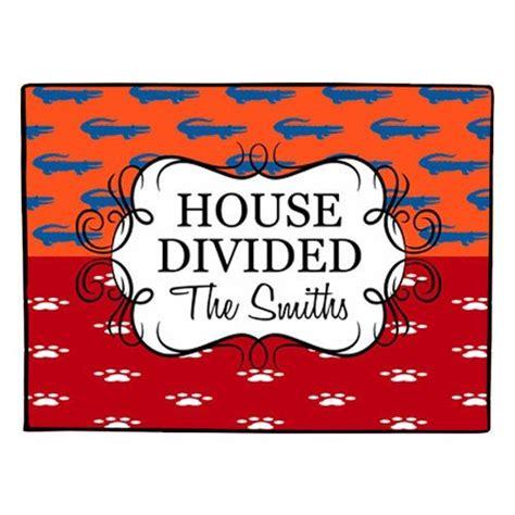 House Divided Doormat house divided doormat personalized door mat florida by gameday designs 35 00