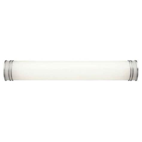 36 inch bathroom light fixture kichler white 36 inch two light fluorescent bath vanity