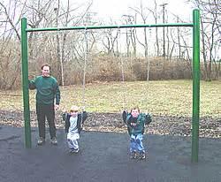 single post swing set single post swing sets playground equipment usa